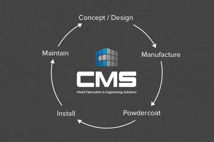 cms fabrication engineering process uk