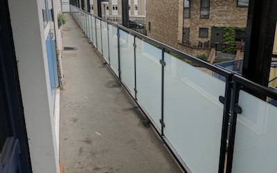 10 Storey Balustrade Refurbishment