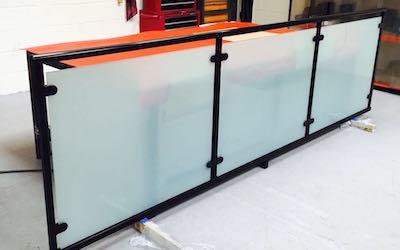 Balcony - Glass Balustrade