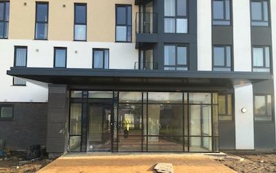 Cladding & Flashings to Apartment Entrance (4)