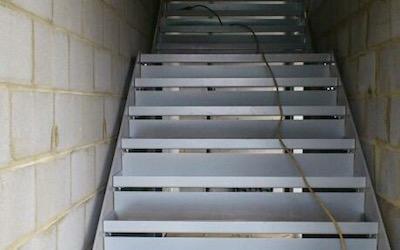 Staircase In Car Garage Premises (2)