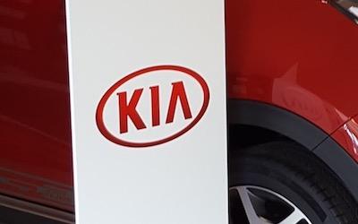 KIA Marketing Stand